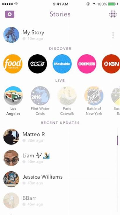 Snapchat Story Brands Snap Views Sharing Number