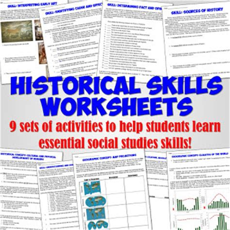 students of history back to school historical skills