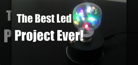 How Make Light Bulb With Dancing Leds Inside