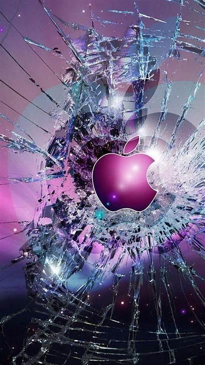 Iphone Broken Cool Glass Screen Lock Wallpapers