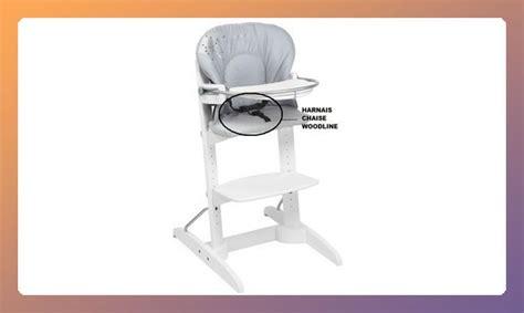 harnais bébé chaise haute harnais chaise haute woodline bébé confort les bébés du