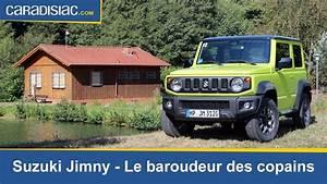 Suzuki Jimny Essai : essai suzuki jimny le baroudeur des copains youtube ~ Medecine-chirurgie-esthetiques.com Avis de Voitures