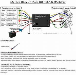 Cablage Attache Remorque : relais matic v7 notice de montage ~ Medecine-chirurgie-esthetiques.com Avis de Voitures