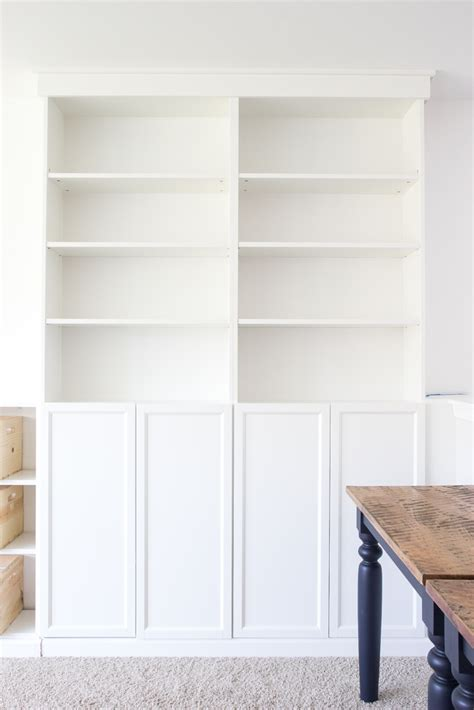 billy bookcase built in diy built ins from ikea bookcases orc week 2 bless 39 er