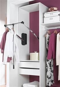 Tringle Pour Dressing : la tringle basculante kazed ranger son dressing ~ Premium-room.com Idées de Décoration