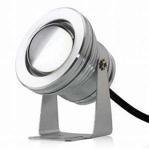 Spot Exterieur 12v : spot exterieur projecteur led 10w blanc chaud ip67 tanche ~ Edinachiropracticcenter.com Idées de Décoration