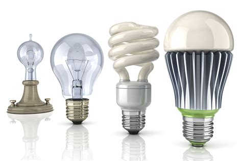 led light bulbs vs incandescents and fluorescents how