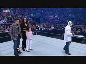 Rey, Angie, Dominik & Aalyah - Smackdown March 12, 2010 ...