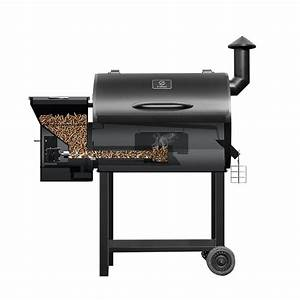 BBQ Grill Z GRILLS Charcoal Barbecue Smoker 684 Sq W
