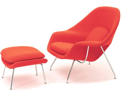 womb lounge chair ottoman hivemodern