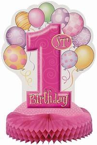 1 An Anniversaire : centre de table anniversaire 1 an fille mister fiesta ~ Farleysfitness.com Idées de Décoration