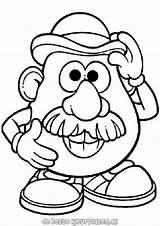 Coloring Mr Potato Head Printable Ratings Yet sketch template