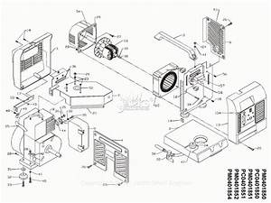 Powermate Formerly Coleman Pm0401850 Parts Diagram For