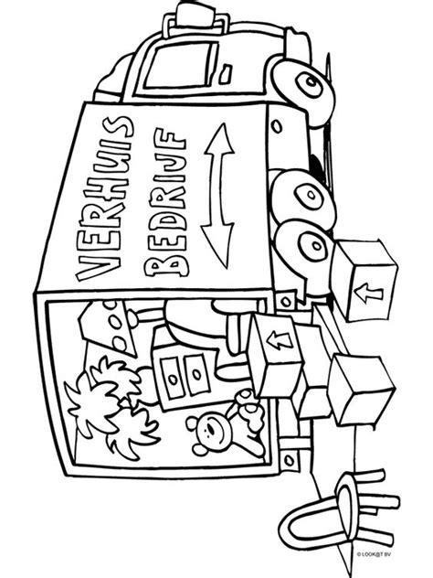 Kleurplaat Huis Met Klimop by Kleurplaat Huis Met Kamers Kleurplaat Verhuiswagen