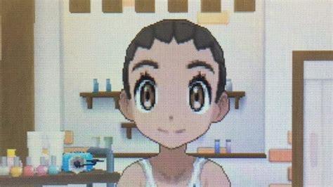 Pokemon Sun & Moon Female Hairstyles