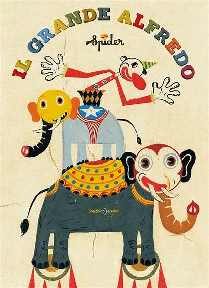 Spider Circus Grande Alfredo Illustration Illustrations Magic