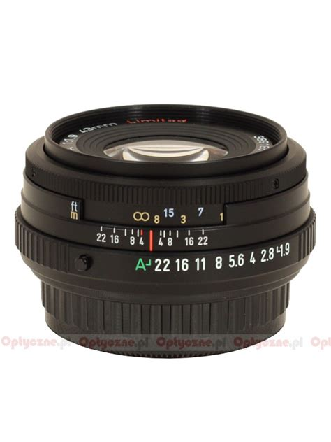 pentax smc fa 43 mm f 1 9 limited review introduction lenstip
