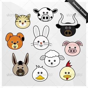 Domestic Animal Cute Cartoon by Leremy | GraphicRiver