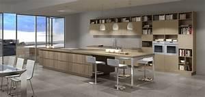 deux cuisines design et originales With cuisines aménagées originales
