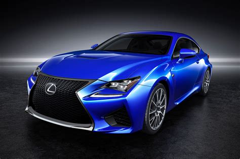 lexus rcf sedan 2015 lexus rc f coupe front three quarters photo 9
