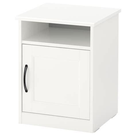 Table De Nuit Ikea by Songesand Table De Chevet Blanc 42 X 40 Cm Ikea