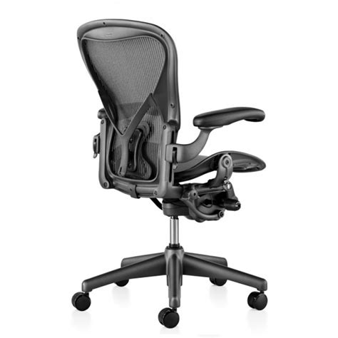 used herman miller aeron chair size b black cht1475 001
