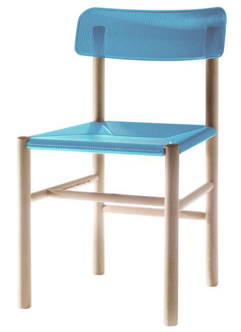 chaises plastique chaise trattoria chair plastique bois bleu magis