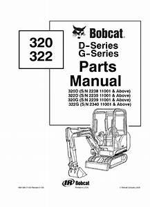 Bobcat 320  322 D