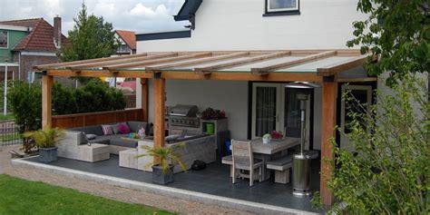 tuinhuis mandy houten terrasoverkappingen met glas jumbo