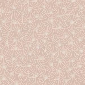 Papier Peint Rose Et Gris : papier peint sacha 100 intiss motif graphique rose poudr ~ Dailycaller-alerts.com Idées de Décoration