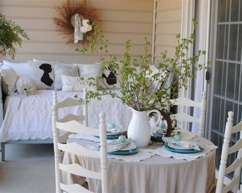 shabby chic porch ideas pictures remodel  decor