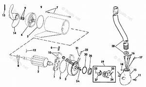 Omc Trolling Motor Parts 24 Volt Oem Parts Diagram For