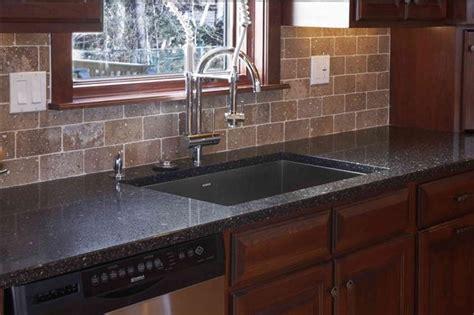 obsidian countertop kitchen c obsidian countertop stunning limestone