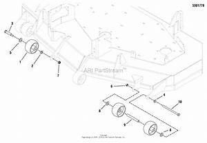 Snapper Pro 5900551 - S75xkav2352  52 U0026quot  Zero-turn Rider Parts Diagram For 52 U0026quot  Mower Deck