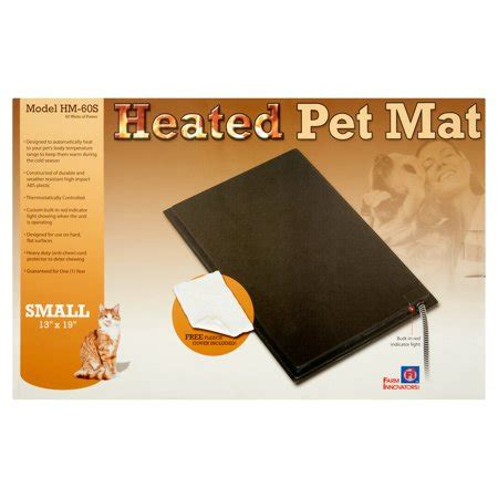 heated pet mat farm innovators small heated pet mat walmart