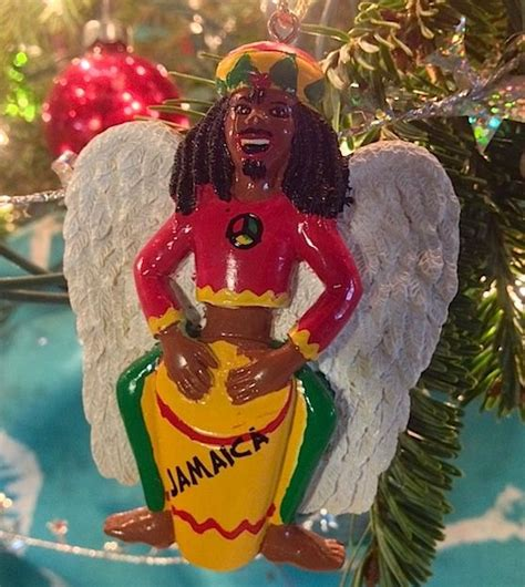 one of our favorite christmas ornaments a rasta angel