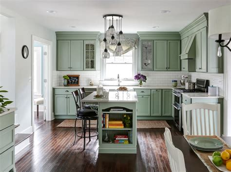 vintage revival  dutch colonial kitchen traditional