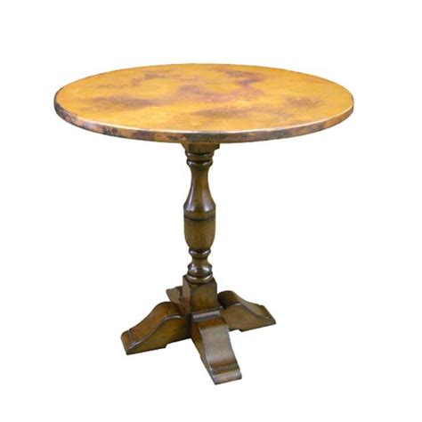 copper top dining table care 54042 bistro table with copper top