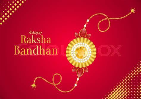 raksha bandhan vector background stock vector
