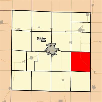 Salem Map Township Illinois County Svg Highlighting