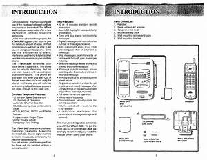 Page 3 Of Vtech Cordless Telephone 900i User Guide
