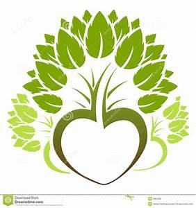 Abstract Green Tree Icon Logo Stock Vector - Image: 5861060