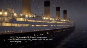 game developer releases real time simulation of titanic s