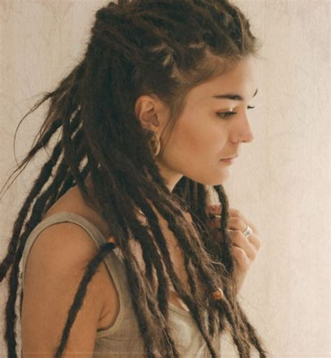 pretty beautiful awesome sick gauges dreads it