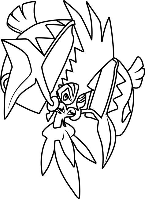 tapu koko pokemon coloring page  printable coloring pages  kids
