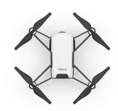 dji ryze tello quadcopter drone white hd vr app controlled  p camera mp ebg
