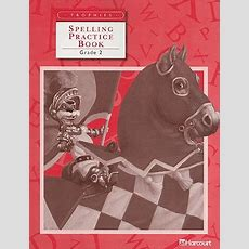 Trophies Spelling Practice Book Grade 2 Book By Harcourt School Publishers (creator) 1