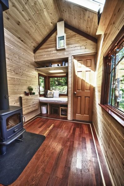 tumbleweed homes interior yan s tiny tack house based on tumbleweed fencl open house