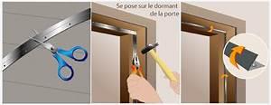 Joint De Porte Bois : calfeutrer une porte d 39 entr e porte ~ Edinachiropracticcenter.com Idées de Décoration