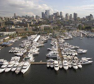 Seattle Boat Show September by Chris Craft S Launch 22 Yacht Tender On Display At The